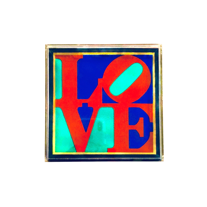 Dima Haidar - LOVE ANDY  | BOX | PLAXIGLASS